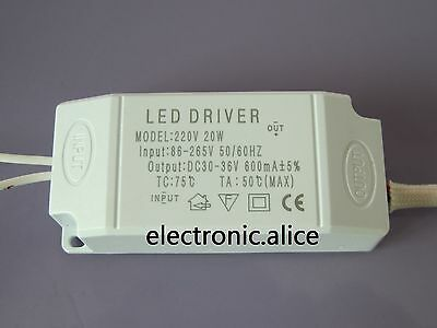 Power Supply Driver For LED Light Lamp Bulb 300mA 1-3W 5W 10W 20W 30W 85-265V