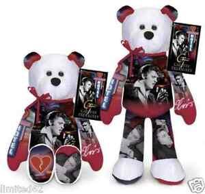"Elvis Presley Plush Bear "" GI Blues "" by Limited Treasures ... |Elvis Presley Stuff Animal"