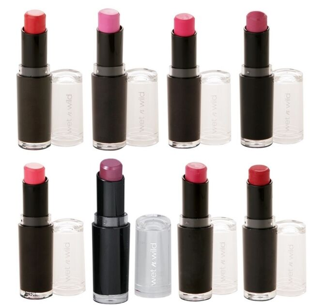 6 Pcs WET N WILD Mega Last Matte Lip Cover Lipstick -Pick Any 6 Colors FREE SHIP