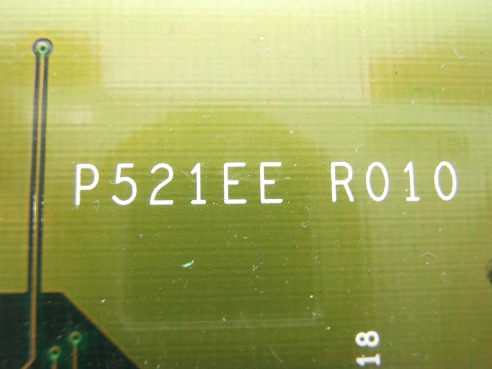 Tel Tokyo Electron P521EE R010 tarjeta de plano posterior PCB PCB PCB E82152 ACT8 Usado Funcionando a09a79