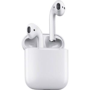 Apple-AirPods-White-MMEF2ZE-A-In-Ear-Bluetooth-Headset-W-Charging-Case-New