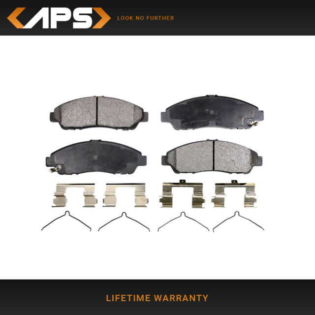 Front Set Semi-Metallic Brake Pads For Honda Pilot & Acura