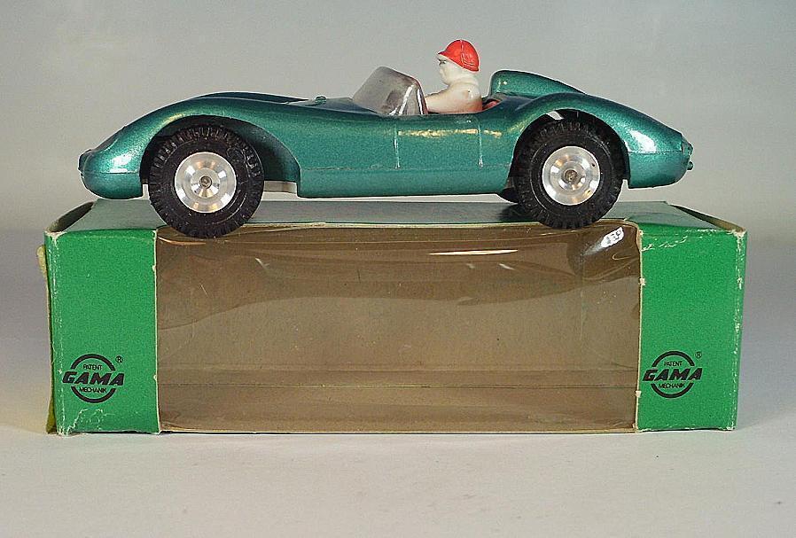 Gama Mini-Mod 1 46 Nº 9610 FERRARI 500 TRC Cabriolet vertmetallic nº 7 neuf dans sa boîte  6384