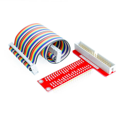 40Pin Cable For Raspberry Pi 2B 3BT/_H4 T GPIO Breakout Expansion Board DIY Kit