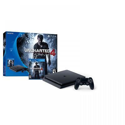PS4 Slim 500GB Uncharted 4  A Thiefs End Bundle