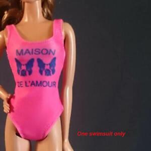 Handmade-Doll-swimwear-for-12-034-Doll-Barbie-Move-barbie-Tall-barbie-Muse-barbie