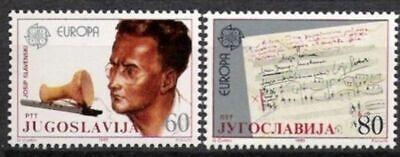 Rational Jugoslawien Nr.2104/05 ** Europa Postfrisch Cept 1985