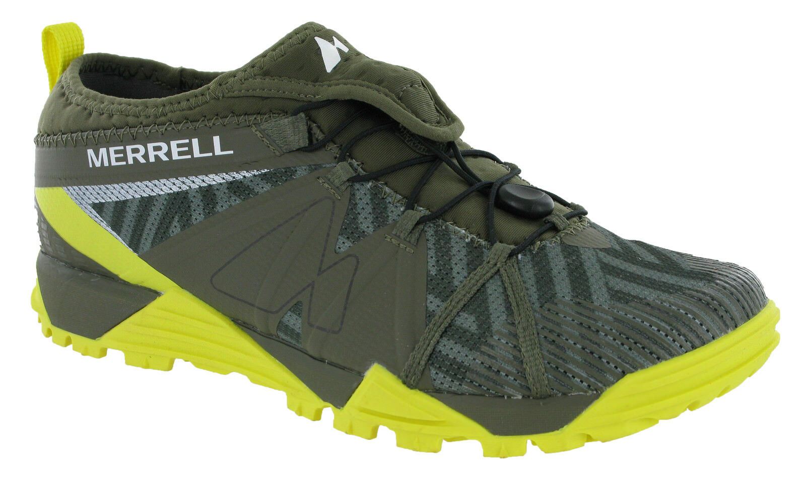 Merrell Avalaunch Mens Casual Comfy Slip On Stylish Green Trainers J37819