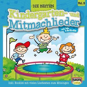 FELIX-amp-DIE-KITA-KIDS-DIE-SCHONSTEN-KINDERGARTEN-UND-MITMACHLIEDER-VOL-5-CD-NEW