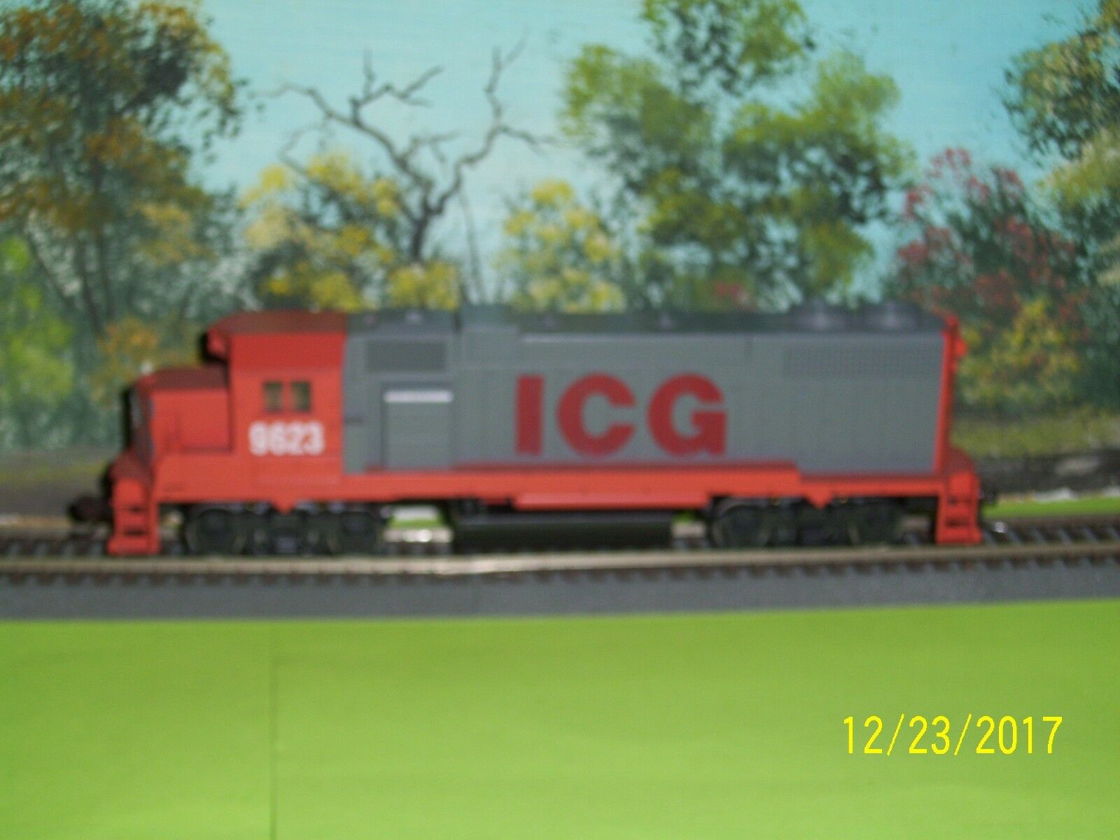 ATHEARN HO SCALE  4203 GP38-2 energia ICG  9623 XX