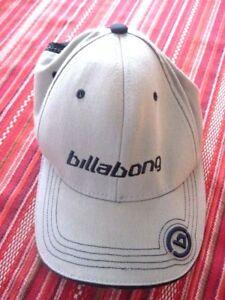 New-BILLABONG-Grey-Hat-Cap-Extra-Small-New