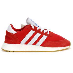 Adidas-Men-039-s-I-5923-Scarlet-Cloud-White-Gum-3-Shoes-BD7811-NEW