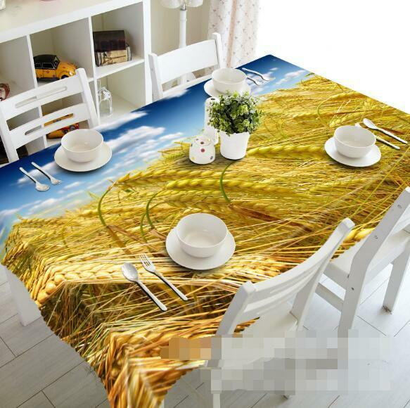 3D Sky straw72 Tablecloth Table Cover Cloth Birthday Party Event AJ WALLPAPER UK