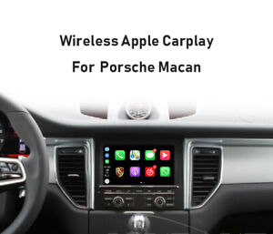 Details about For Porsche Macan 14-16 PCM 3 1 Wireless Apple Carplay  Android auto GPS NAVI
