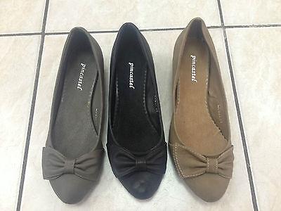 Femmes Chaussures Escarpins Compensé Neuf Noir Gris Taupe P 36/41 Lx-b21