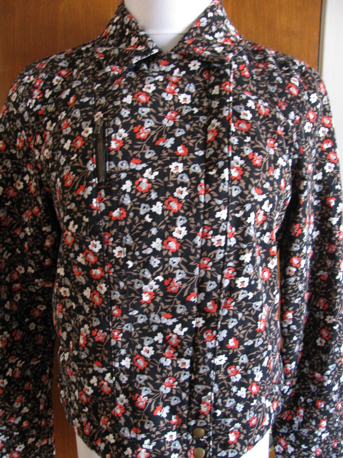 Anthropologie HEI women's multicolor zippered lined blazer Sz 12 retail  NWT