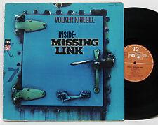 Volker Kriegel         Inside: Missing link          MPS       DoLp    NM # 42