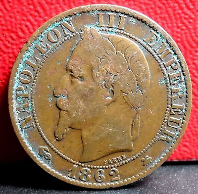 World Foreign Old French 25 Centimes Coin 1905 KM# 856 Vintage France !!