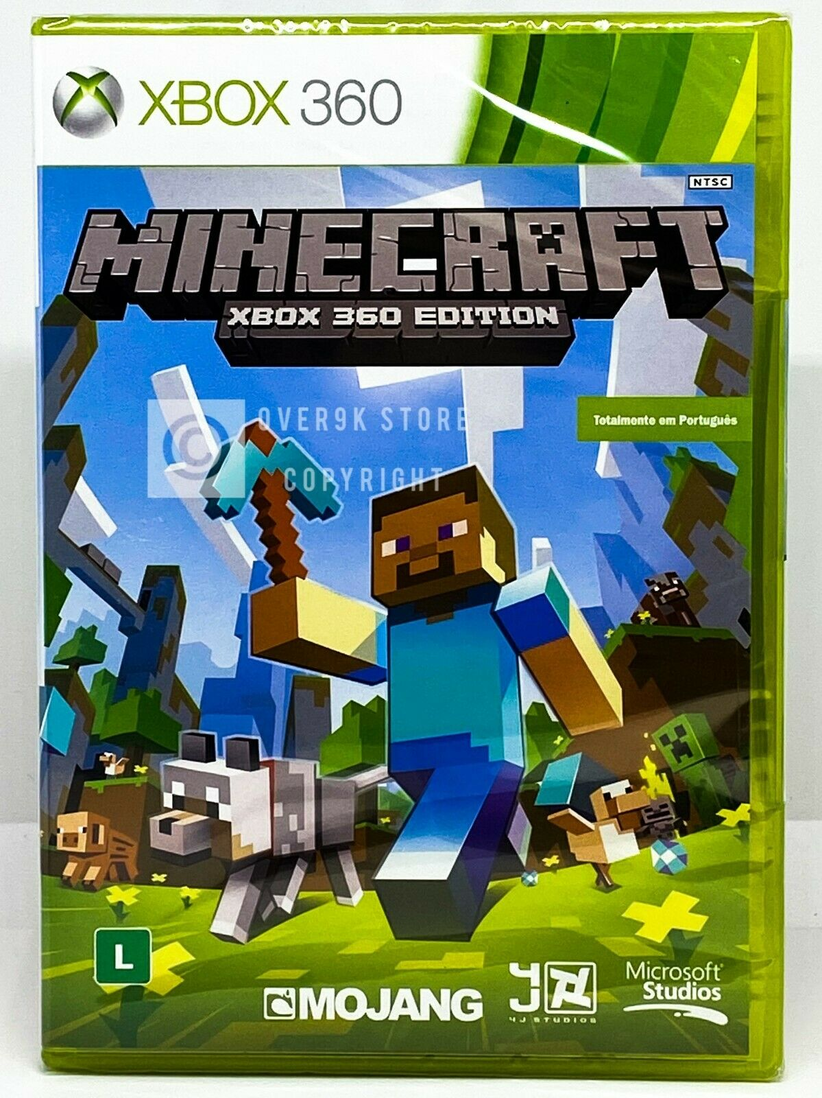 Minecraft Xbox 8 Edition - Brand New  Factory Sealed  Portuguese Cover