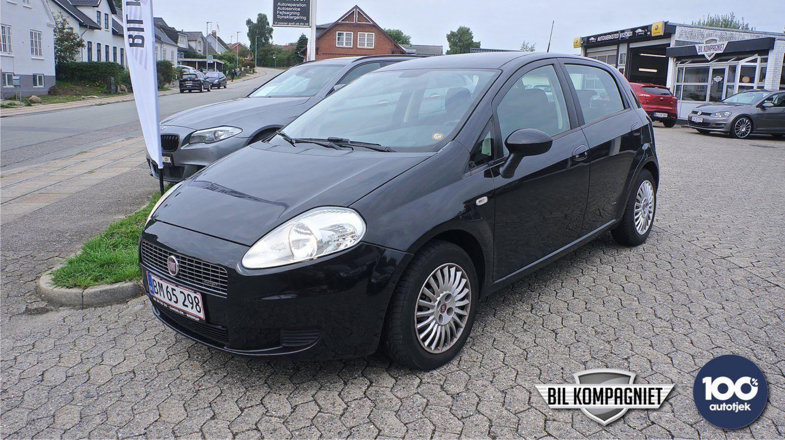Fiat Grande Punto 1,3 JTD 75 Active 5d - 16.900 kr.