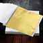 100-Sheets-Gold-Leaf-Foil-9cm-Square-Craft-Gilding-UK-Stock thumbnail 4