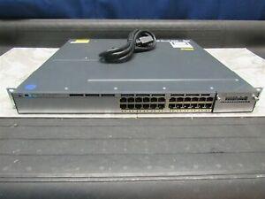 Cisco-WS-C3750X-24T-L-24-Port-Gigabit-3750X-Switch-w-AC-Power-1-Year-Warranty