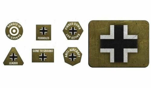 Late War German Token /& Objective Set Flames of War GE905
