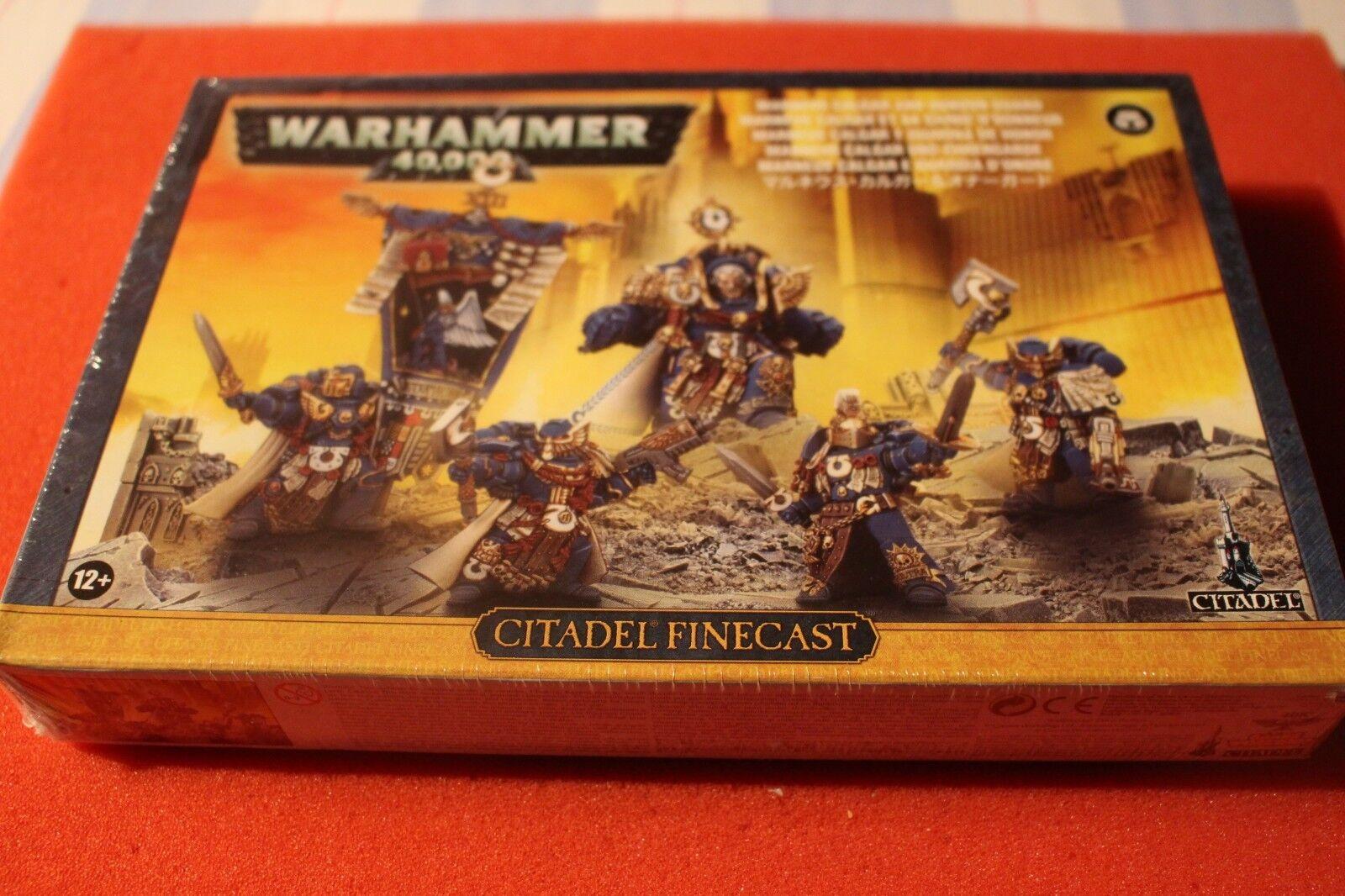 tutti i beni sono speciali giocos lavoronegozio WARHAMMER 40k Ultramarine marneus Calgar Onore Guardia NUOVO NUOVO NUOVO CON SCATOLA NUOVO  grande sconto