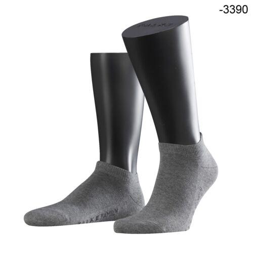 9 3 12 Paia Falke Family calze Uomo Sneaker Breve Calze Calze colore a scelta 6