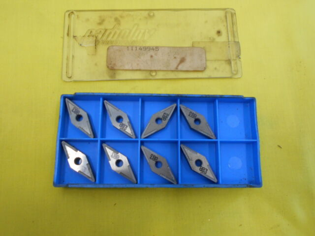 10 INDEXABLE CARBIDE INSERTS mill cutting tool bits LOVEJOY USA SPE 432 T
