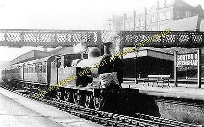 Ardwick 4 Gorton Ashbury/'s Railway Station Photo Manchester to Fairfield.