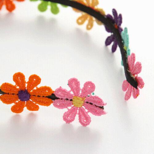 Blumen-Stirnbänder Girlande-Blumen-Stirnband für Mädchen-Blumen-Kronen-ZP