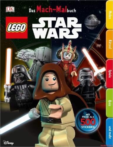 Fachbuch LEGO® Star Wars™ Das Mach-Malbuch mit vielen Stickern NEU