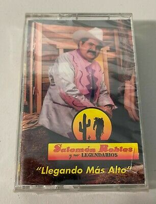 Salomon Robles Y Sus Legendarios Cassette Llegando Mas Alto New Sealed OOP
