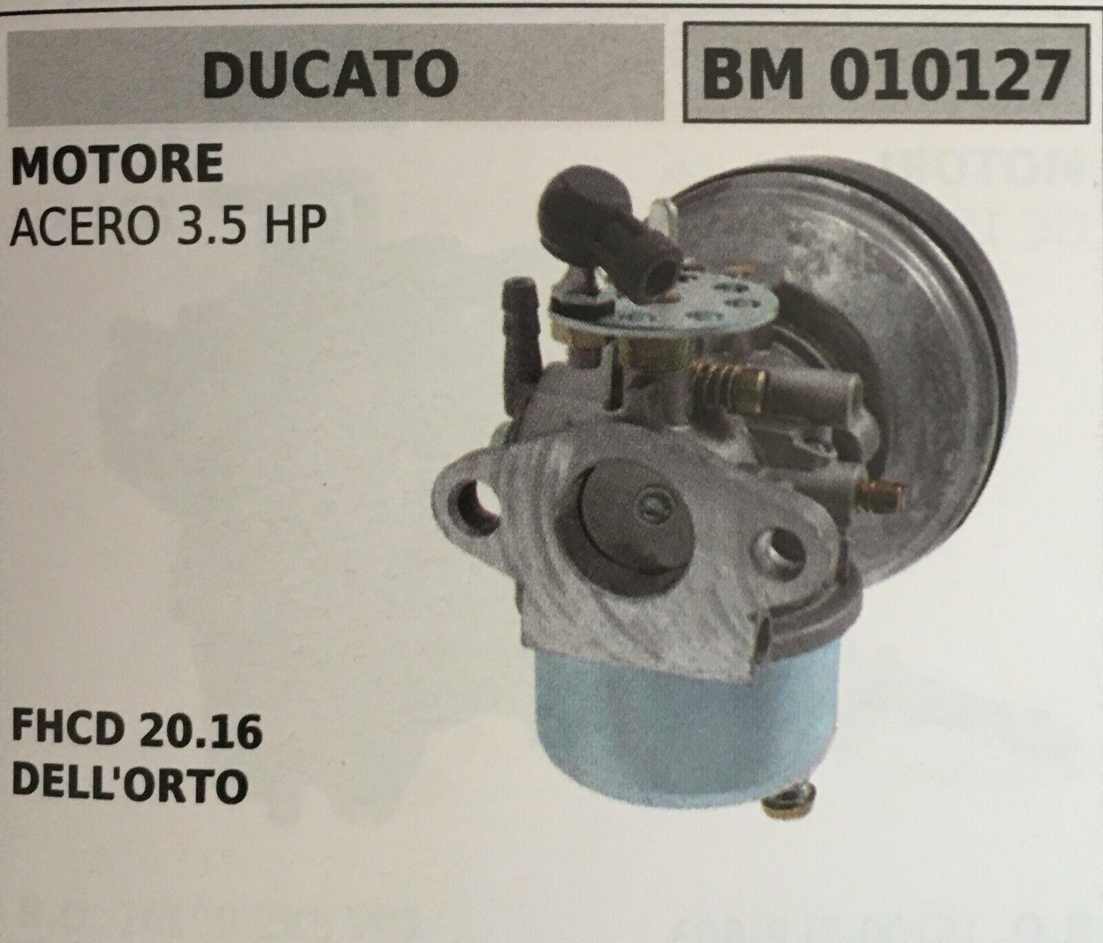 Vergaser A Schüssel Brumar Ducato BM010127 Motor Ahorn 3.5 HP