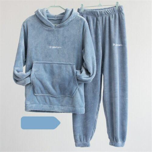 Pyjama Hiver Polaire Confort Homme Femme Cocooning Jogging Pull Survêtement