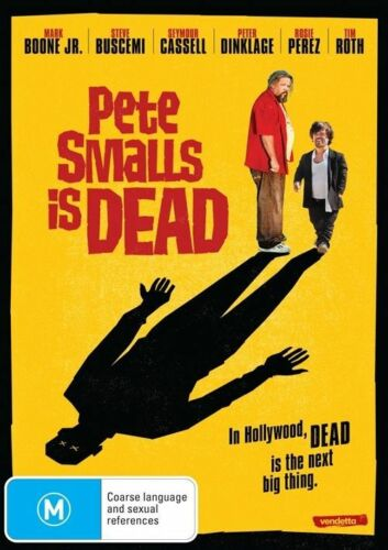 1 of 1 - Pete Smalls Is Dead-DVD VERY GOOD CONDITION FREE POST AUSTRALIA WIDE