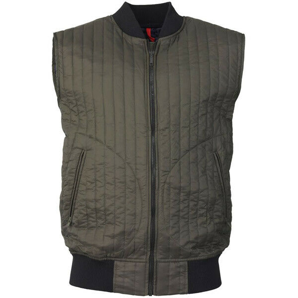 Laksen, Compton Vest, Olive, size 42
