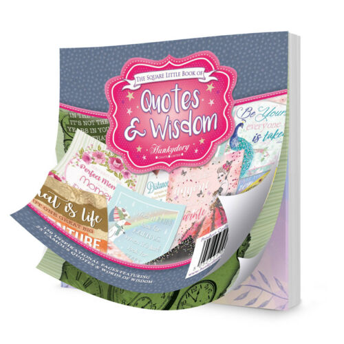 36 PAGES HUNDREDS TO CHOOSE FROM HUNKYDORY LITTLE BOOK OF SAMPLE PACK 24 25