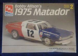 New-Factory-Sealed-AMT-ERTL-1-25-Bobby-Allison-039-s-1975-Matador-Model-Kit