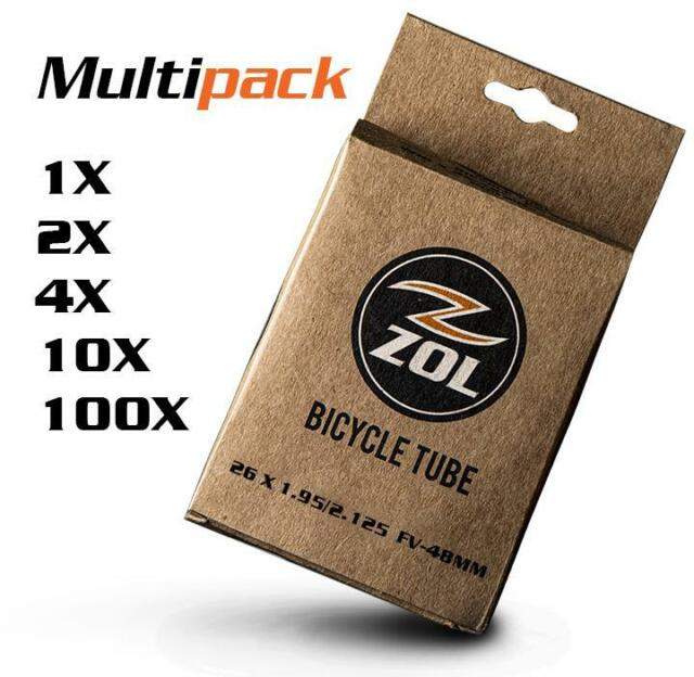 Bicycle Duro Inner Tube 29 x 1.90//2.125 48mm Presta Bike Tube New