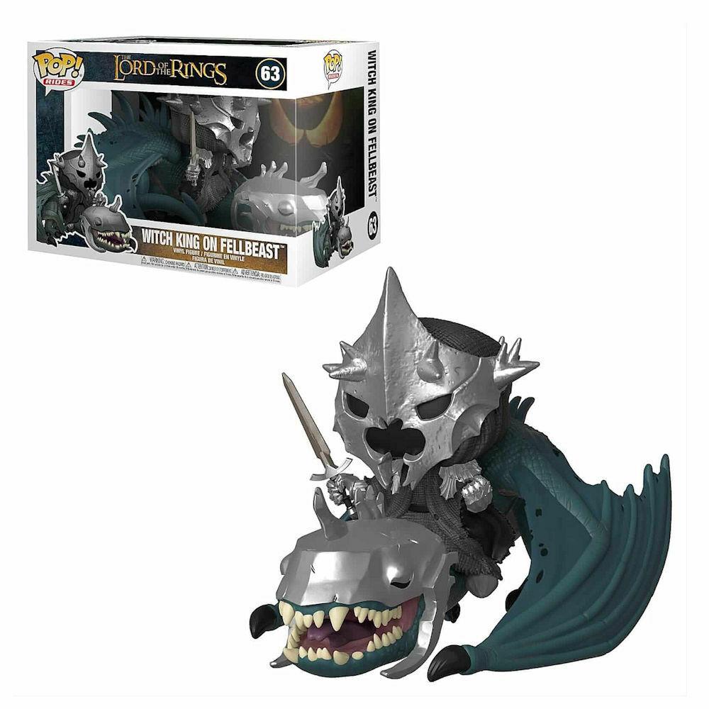 Funko Pop Rides el Senyor Dels Anells - Señor de los Nazgûl sobre Bestia Alada