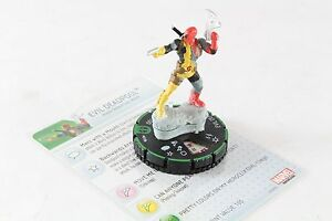 Heroclix Marvel Deadpool Evil Deadpool 019b Prime Ebay