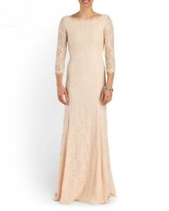 Image Is Loading Dvf Diane Von Furstenberg Zarita Gown Heaven Lace