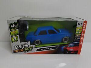 Maisto-Tech-R-C-1971-Datsun-510-Blue-1-24-HTF-Radio-Control