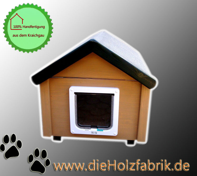 Outdoor gatti casa resistente alle intemperiebs2j