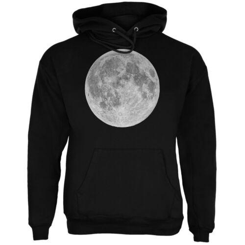 Earth/'s Moon Black Adult Hoodie