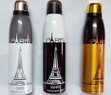 Paris Body Spray Deodorant For Men 1 + 1 Offer MRP : 500 for Any two