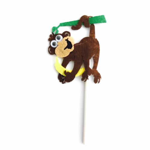 Party Supplies Food Lolly Bag Bunting Lion Animal Zoo Safari Jungle Cake Topper