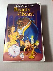 Rare Walt Disney S Beauty And The Beast Vhs Black Diamond Classics Ebay